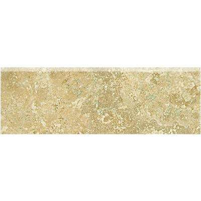 Fantesa Cameo 2 in. x 6 in. Ceramic Bullnose Wall Tile