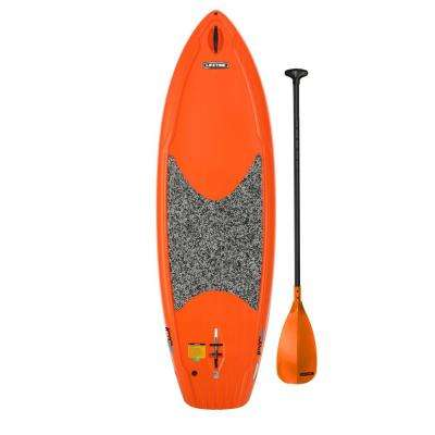 Hooligan 8 ft. Youth Paddleboard in Orange with Paddle