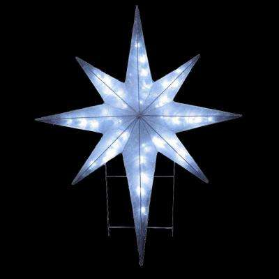 42 in. Star Decoration with LED Lights