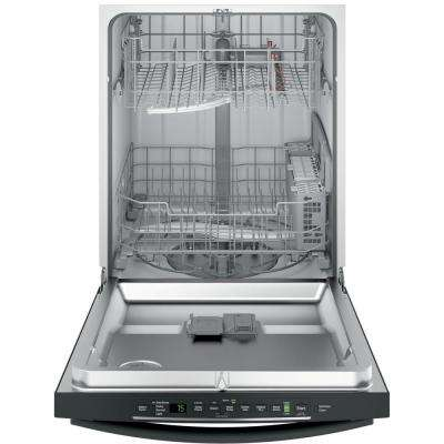 Top Control Dishwasher in Slate with Hybrid Stainless Steel Tub and Steam Prewash, Fingerprint Resistant