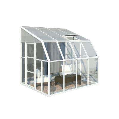 Sun Room 8 ft. x 8 ft. Clear Greenhouse