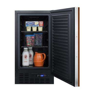 18 in. W 2.7 cu. ft. Freezerless Refrigerator with Panel-Ready Door Counter Depth