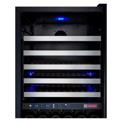 FlexCount Series 172-Bottle Dual Zone Wine Cellar