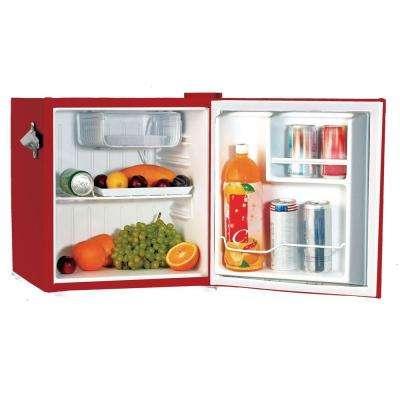 1.6 cu. ft. Mini Refrigerator in Red