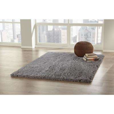Natural 5 ft. x 6.5 ft. Shag Area Rug