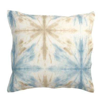 Synergy Tie-Dye Organic Cotton Percale Sham