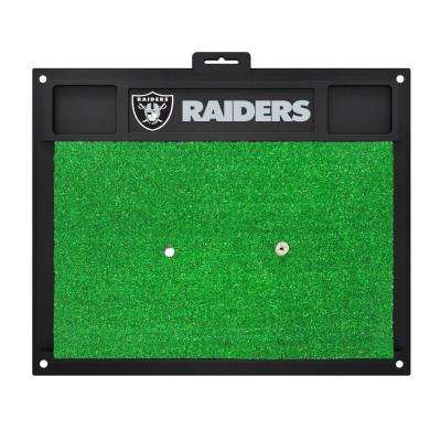 NFL Oakland Raiders 17 in. x 20 in. Golf Hitting Mat