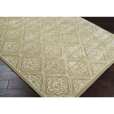 Carlota Pale Green 3 ft. x 8 ft. Runner Rug