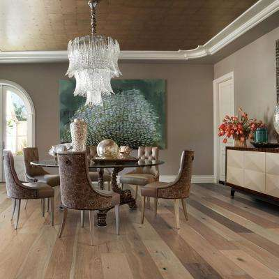 French Oak Silver Sands 1/2 in. T x 7.5 in. W x Varying Length Engineered Click Hardwood Flooring (23.44 sq. ft./case)