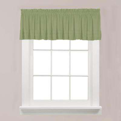 Holden 13 in. L Polyester Valance in Sage