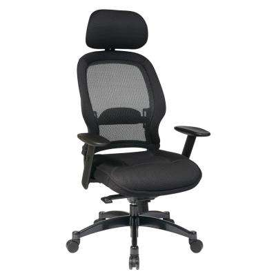 Black and Gray Office Chair