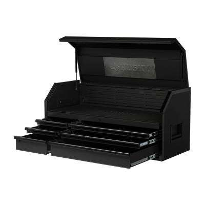 Industrial 52 in. W x 21.2 in. D 6-Drawer Tool Chest in Matte Black