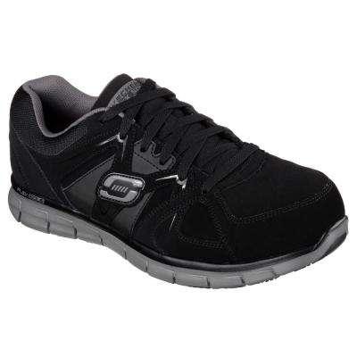 Synergy - Ekron Men's Black Fabric Work Shoe