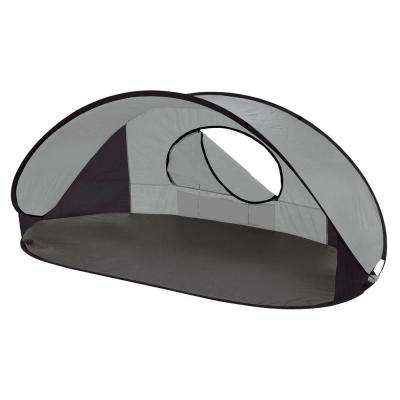 Manta Sun Shelter in Silver Grey and Black