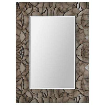 Luna 32 in. x 32 in. Transitional Framed Mirror