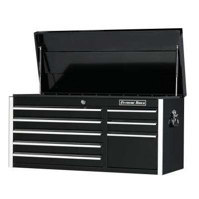 Ex Standard Series 41 in. 8-Drawer Top Chest, Black