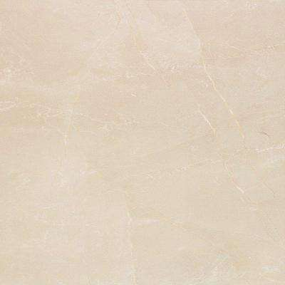Marmol Nilo 18 in. x 18 in. Marfil Ceramic Floor and Wall Tile (10.76 sq. ft. / case)