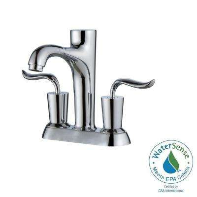 Coda 4 in. Centerset 2-Handle Bathroom Faucet in Chrome