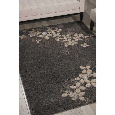 Maxell Charcoal 9 ft. x 13 ft. Area Rug
