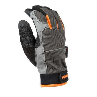 Large HydraHyde Insulated Synthetic Leather Cold Weather Gloves