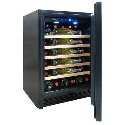 23.4 in. 41-Bottle Indoor/Outdoor Built In Wine Cooler
