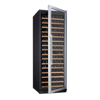 N'FINITY PRO L RED 166-Bottle 23.75 in. Wine Cellar