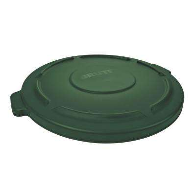 Brute 20 Gal. Green Round Trash Can Lid