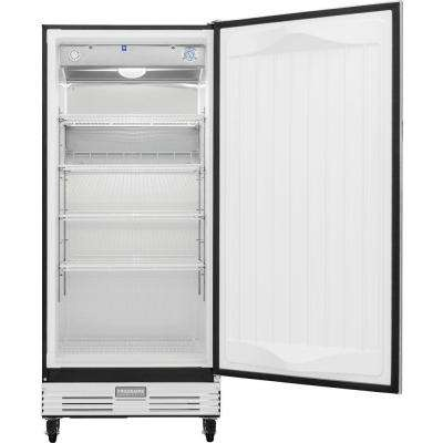 Commercial 17.9 cu. ft. Food Service Grade Merchandiser Refrigerator in Stainless Steel, ENERGY STAR