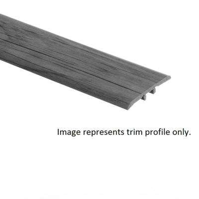 Normandy Oak Natural 5/16 in. Thick x 1-3/4 in. Wide x 72 in. Length Vinyl T-Molding