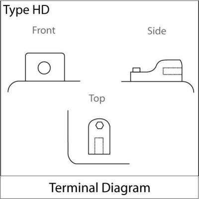 Sealed AGM V-Twin Heavy Duty 12-Volt 19 Ah Capacity HD Terminal Battery