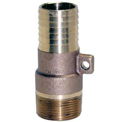 1-1/4-in x 1-in Brass Male Reducing Adapter with Rope Loop