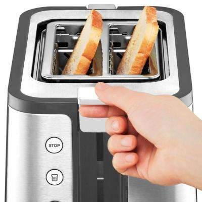 Control Line 2 Slice Toaster in Stainless Steel