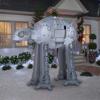 8 ft. Pre-lit Inflatable Airblown AT-AT with Light String