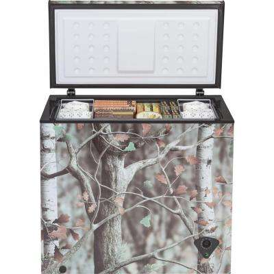 Garage Ready 7.0 cu. ft. Manual Defrost Chest Freezer in Camouflage