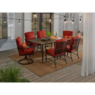 Natural Tan 7 ft. 10 in. x 9 ft. 10 in. Indoor/Outdoor Area Rug