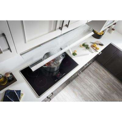 30 in. Convertible Slide-Out Range Hood in Stainless Steel