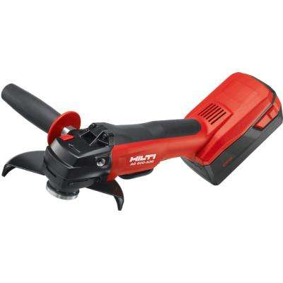 36-Volt Lithium-Ion Cordless 6 in. Angle Grinder