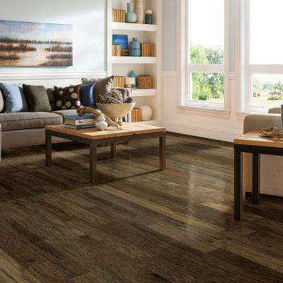 Hickory Ash Gray 3/8 in. Thick x 5 in. Wide x Varying Length Engineered Hardwood Flooring (25 sq. ft. / case)