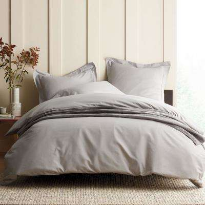 Legends Luxury Solid Sateen Duvet Cover