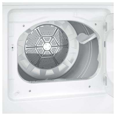 7.4 cu. ft. 240-Volt White Electric Vented Dryer, ENERGY STAR