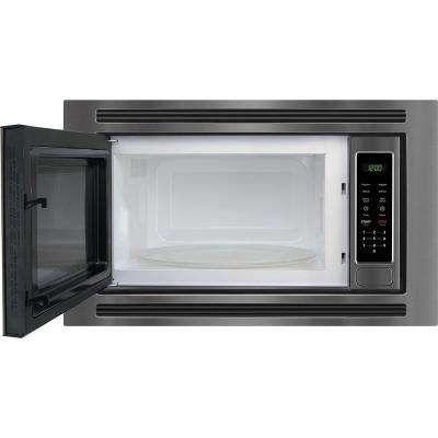 2.0 cu. ft. Built In Microwave in Black Stainless Steel