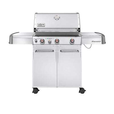 Genesis S-330 3-Burner Propane Gas Grill in Stainless Steel