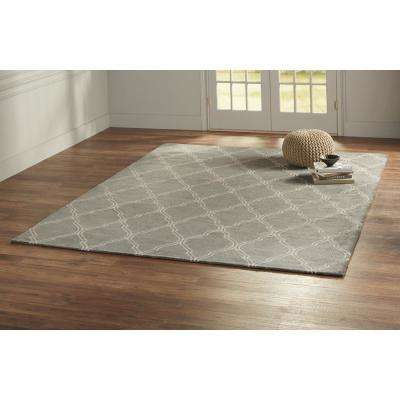 Walton Pewter 5 ft. x 8 ft. Area Rug