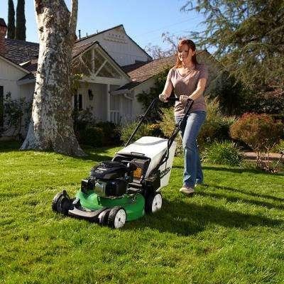 21 in. Electric Start Gas Walk Behind Self Propelled Lawn Mower with Kohler Engine