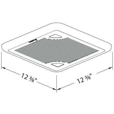 Signature Series 110 CFM Ceiling Bathroom Exhaust Fan, ENERGY STAR