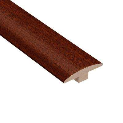 Matte Corbin Mahogany 3/8 in. Thick x 2 in. Wide x 78 in. Length Hardwood T-Molding