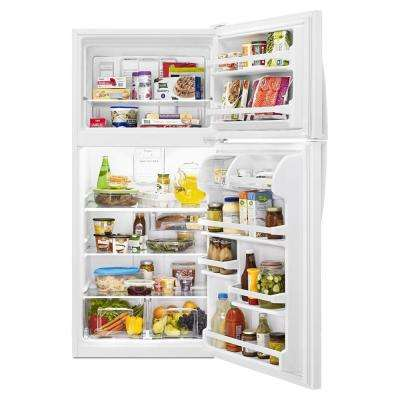 18.2 cu. ft. Top Freezer Refrigerator in White