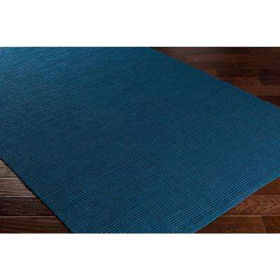 Hawaii Jane Navy Blue 2 ft. x 10 ft. Indoor Runner Rug