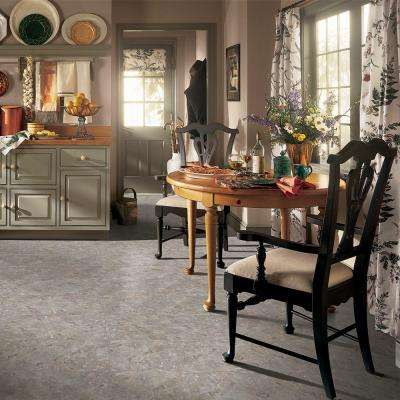 Warm Gray Clear Creek 12 in. x 12 in. Residential Peel and Stick Vinyl Tile Flooring (45 sq. ft. / case)