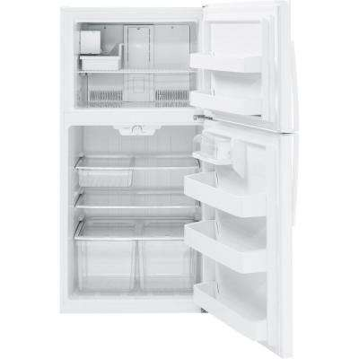 21.1 cu. ft. Top Freezer Refrigerator in White, ENERGY STAR